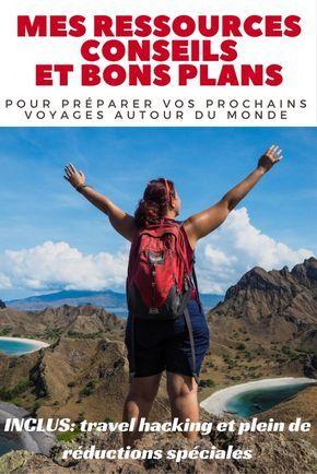 Toutes mes ressources, conseils et bons plans pour préparer vos prochains voyages autour du monde après plus de 10 ans de voyage en solo: inclus travel hacking et réductions spéciales. Le guide pratique francophone le plus complet et exhaustif.