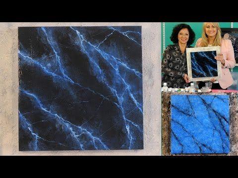 Falsos Acabados - Como imitar Marmol - Lidia Gonzalez Varela