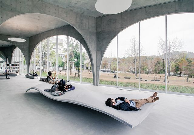 Tama Art University Library / Toyo Ito