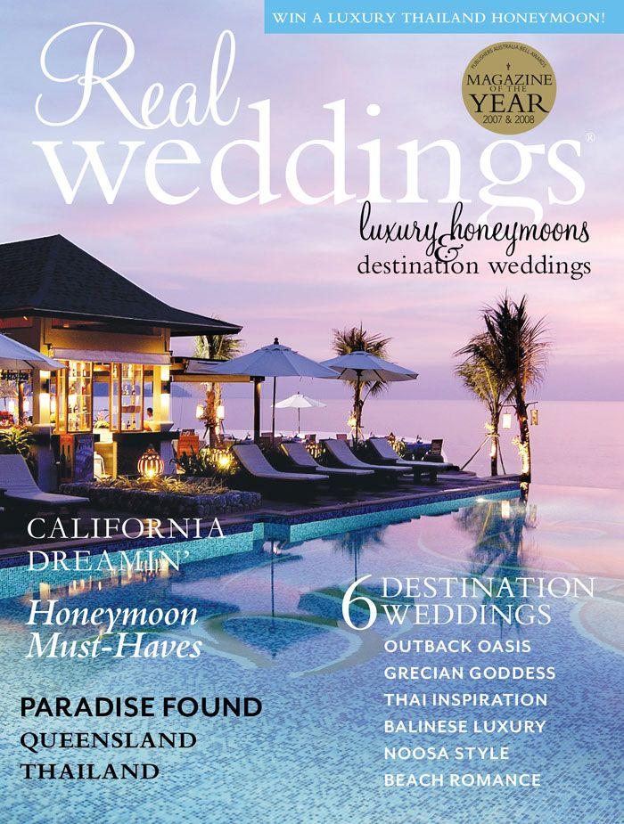 Real Weddings - Issue 18; honeymoon flip