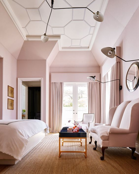 501 best pink bedrooms for grown-ups images on pinterest | bedrooms