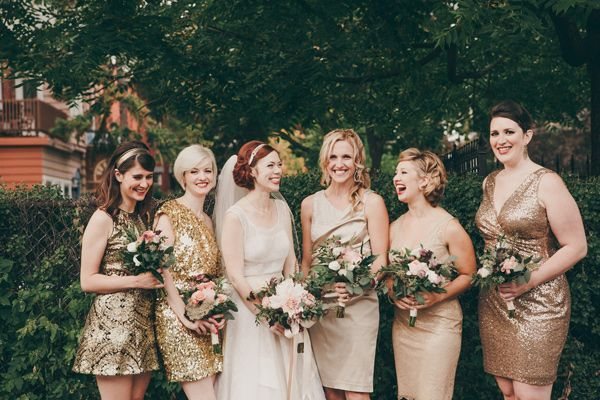 Snippets, Whispers and Ribbons – 5 of the Prettiest Colours for Autumn Bridesmaids