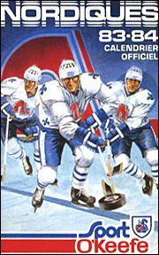 Les Nordiques de Québec - Saison 1983-1984