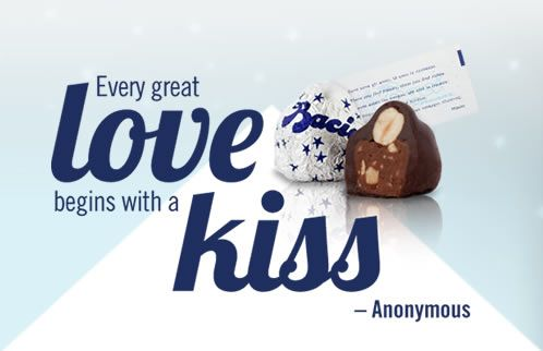 Baci Love Note Quote