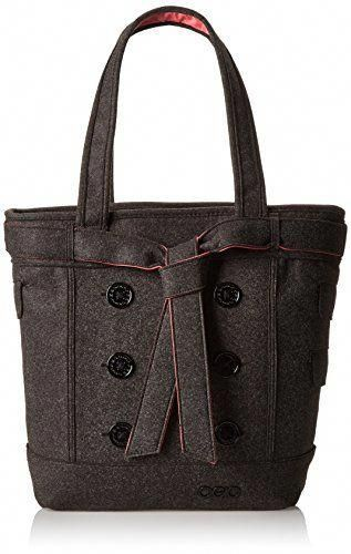 This tote bag has a secure top zipper closure with a fully padded laptop  compartment with a fleece lining 5c526916a1998