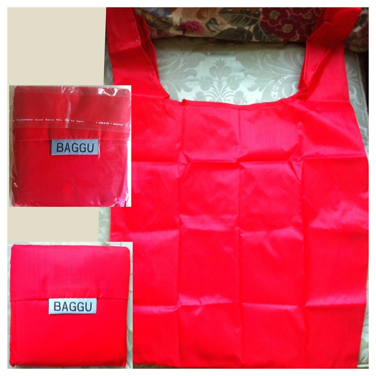 BAGGU - Strawberry red - AUD $6.00 + postage or local pick up available.