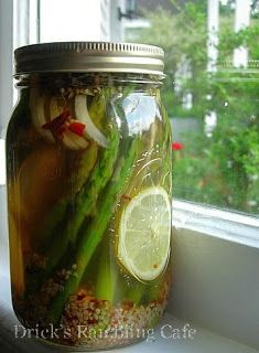 Pickled Asparagus Recipe - Canning made easy ... soooo good