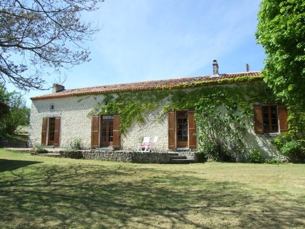 Superb French country house for sale with pool. Beautiful views. No neighbours