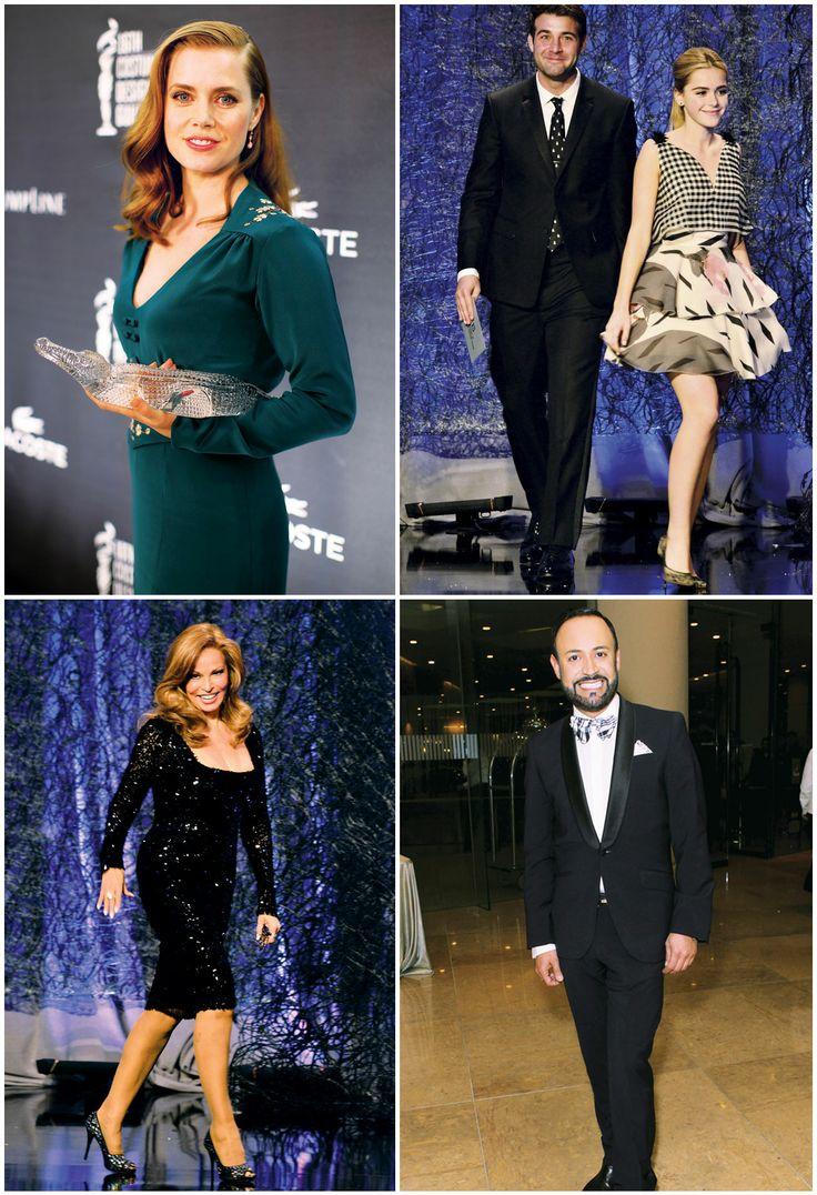 Lacoste spotlights the Costume Designers Guild Awards. (http://www.apparelnews.net/news/2014/feb/27/amy-adams-among-honorees-16th-costume-designers-gu/) #Lacoste #Spotlight #Costume #Designer #Awards #CDA #Amy #Adams #Verros #Fashion #Gala #Beverly #Hills #ApparelNews