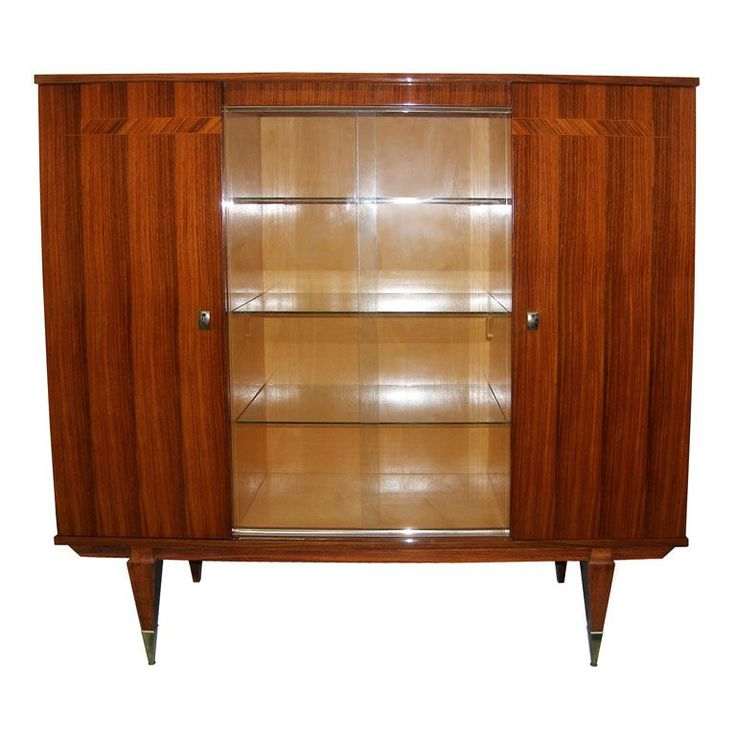 Craig Van Den Brulle, French Rosewood Cabinet With Glass Doors. Find This  Pin And More On Dining And Side Tables, Dining Room ...