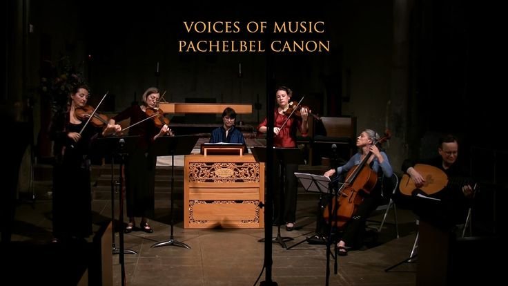Johann Pachelbel: Canon in D, Original Version I love this...the Doctor played this at church last weekend. so beautiful