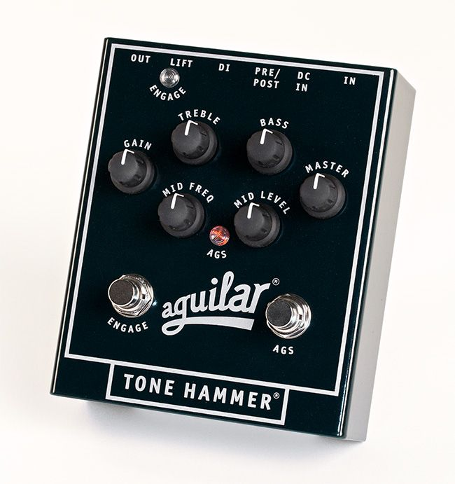 Day 454 - Thinking about getting the Aguilar tone hammer pedal. The bass head looks amazing but this pedal gives you the exact tone as well.