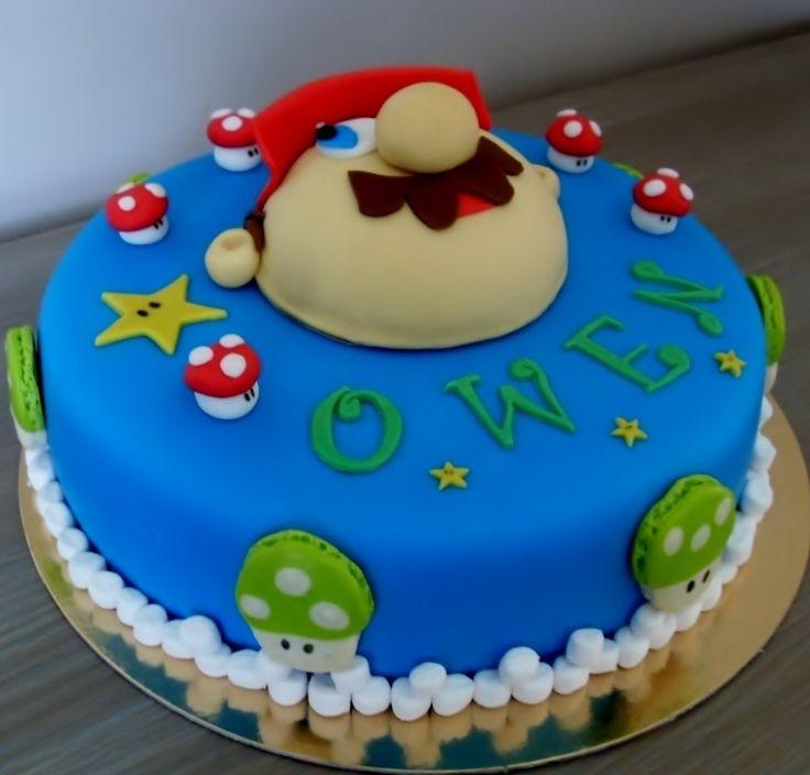 Mario bros birthday cake — Children's Birthday Cakes