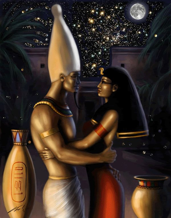 osiris and iris creation myth
