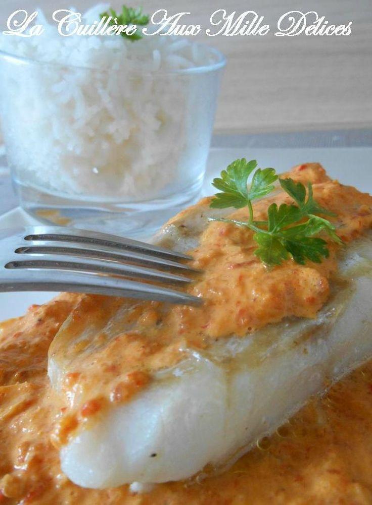 Poisson sauce chorizo & poivron rouge