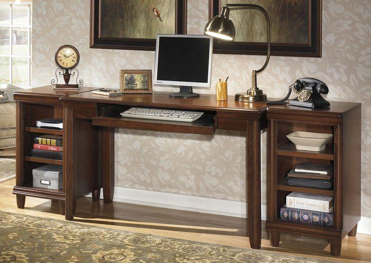 best Desk  on Pinterest  Computer desks Desk hutch and