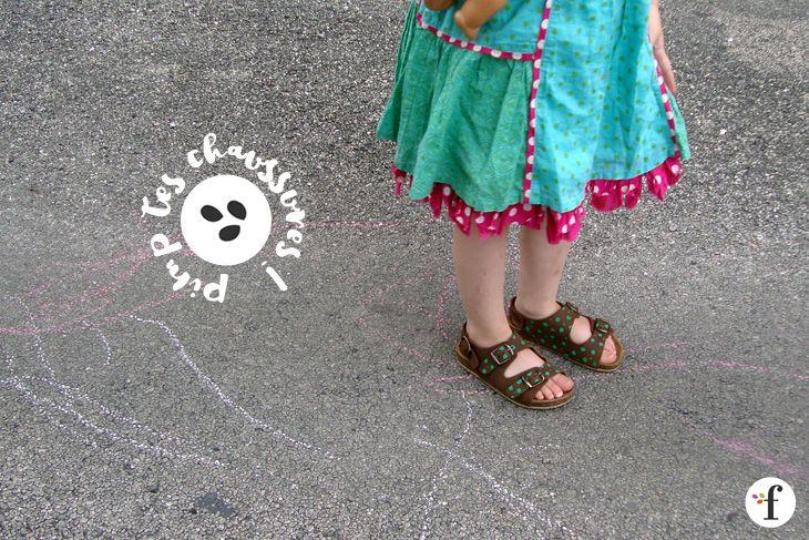 DIY pimp tes chaussures - floenfolie créations