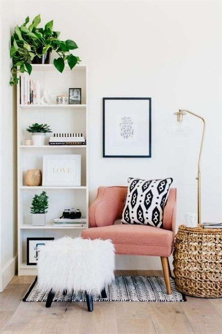 Aménager les petits espaces et les recoins vides est une manière de