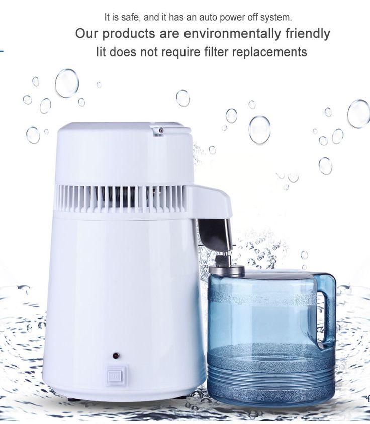 4L/1Gal Electric Dental/Medical/Lab Home Water Distiller