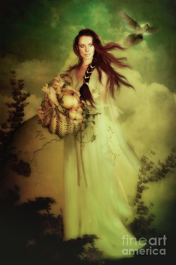 Demeter (Δαμάτηρ | Dāmā́tēr) is the Goddess of agriculture, harvest, fertility and sacred law. She presided over grains and the fertility of the earth