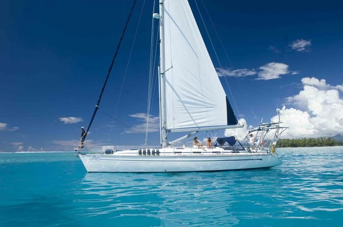 Book your adventure - Cruise through the Leeward Islands on a private sailing cruise and discover the islands of Raiatea, Taha'a and Bora Bora. With a maximum of 4 guests, you'll sail in comfort aboard a 49-foot luxury sailboat. As this is a private charter, your captain and on board host who is also a qualified dive instructor, will customize the itinerary to suit you. You can choose to do as much or as little as you