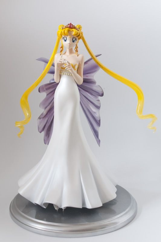 silvermoon424:  Sailor Moon garage kits assembled and painted by dianahase