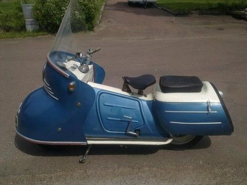 Maico Mobil Motor Scooter - something so weird but entertaining about this awesomeness!!!