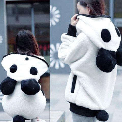 Pulls et Sweats > Blouson Kawaii Panda - Mode japonaise | Mikatani : the asian way of life