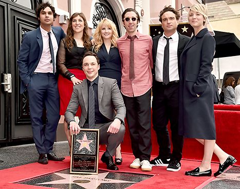 Big Bang Theory Stars Support Jim Parsons Walk of Fame Ceremony: Pics - Us Weekly