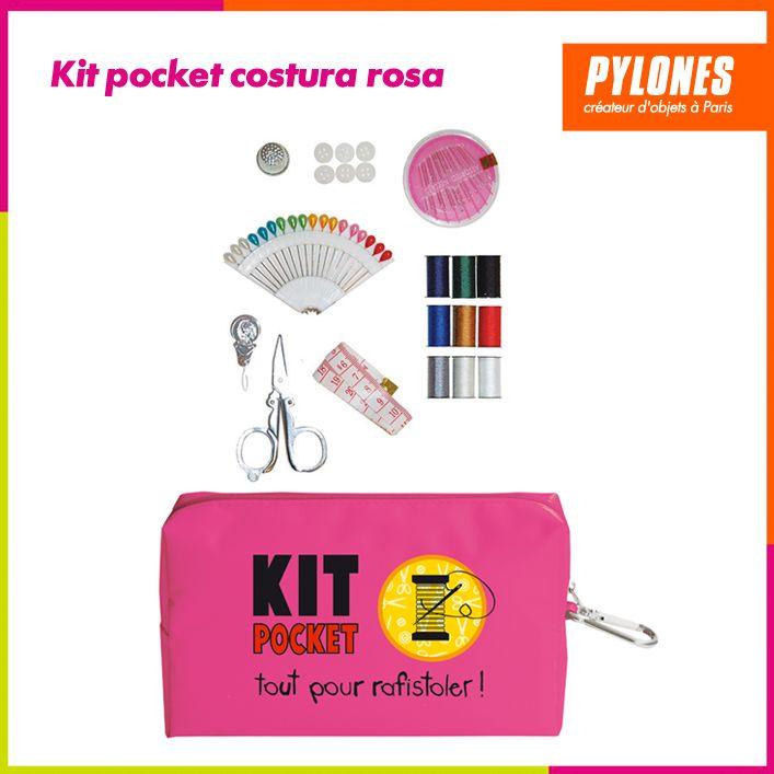 Kit pocket costura rosa #Regalos #Novedades @pylonesco