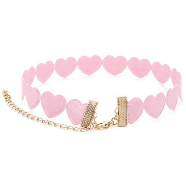 Heart Silhouette Choker ($7.06) ❤ liked on Polyvore featuring jewelry, necklaces, heart shaped choker, forever 21, heart choker, heart jewellery and heart choker necklace
