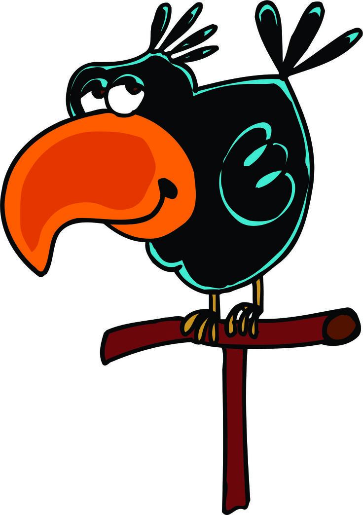 Птицы в смешных рисунках, для парней