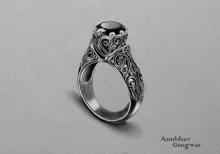 """ Onyx Ring - Drawing """