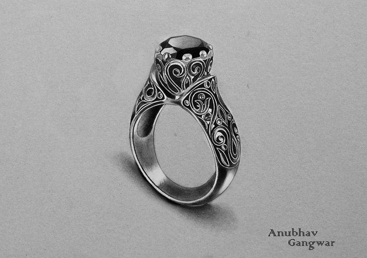 """ Onyx Ring - Drawing """