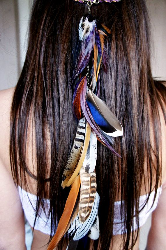 how to make feather hair extensions at home