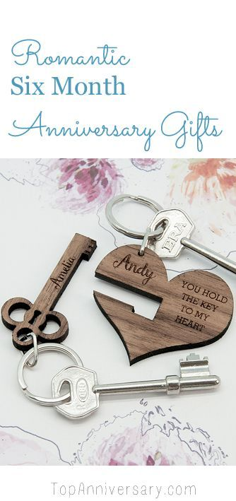 Romantic 6 month anniversary gifts for your boyfriend or girlfriend #anniversarygifts
