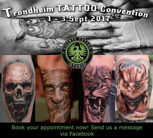 We will be at Trondheim Tattoo Convention in September 2017