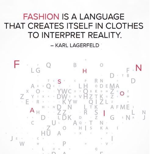 Karl Lagerfeld Fashion Quotes Fashion Designer Quotes Pinterest