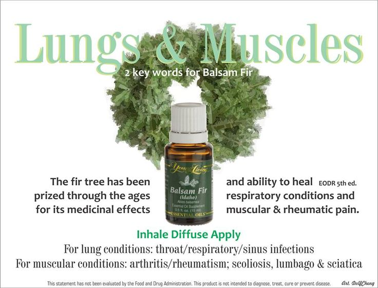 Young Living Essential Oils: Lungs Muscles
