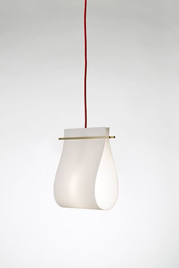 Pendant Light - white wood grey | lighting . Beleuchtung . luminaires | Design: Kathryn Tyler | Beets |