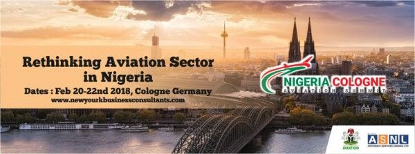 Nigerian Cologne Aviation Summit Opens in Cologne, Germany