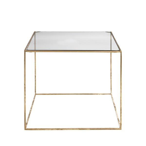 Day Home table in brass  www.day-home.dk