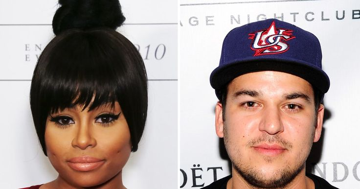 Rob Kardashian gave his girlfriend Blac Chyna roses and a personalized painting for Valentine's Day — get the details