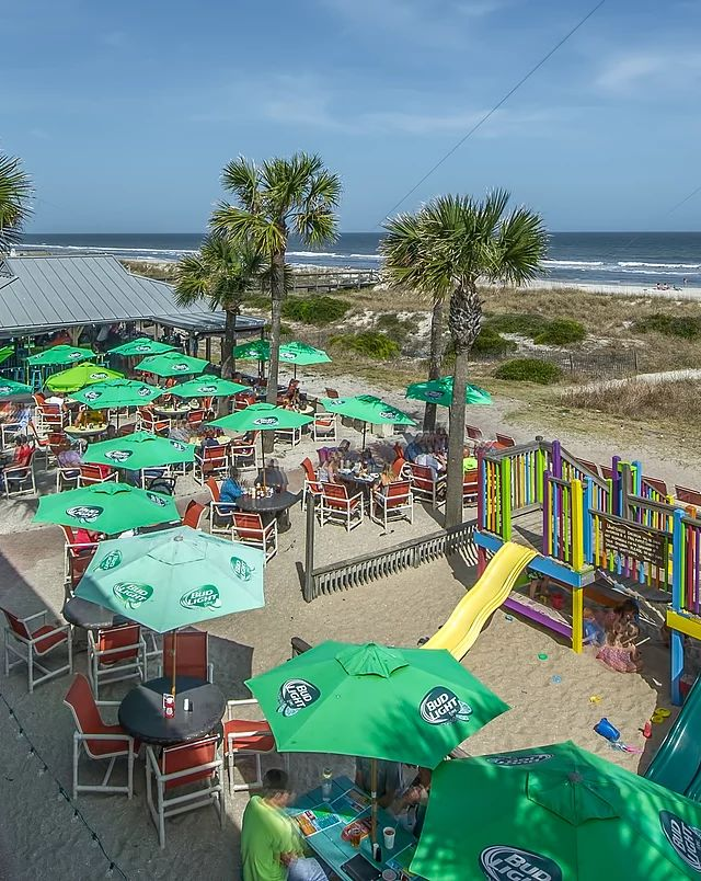Sliders Seaside Grill Restaurant & Tiki Bar on Fernandina Beach in Amelia Island, Florida is the place for food, drinks and live music.