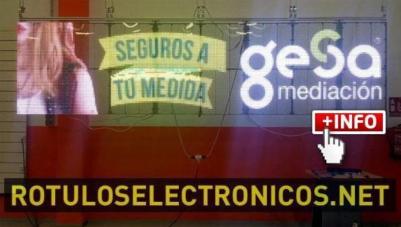 Pantallas de #leds transparentes de PANTALLASELECTRONICAS.NET [vídeo]
