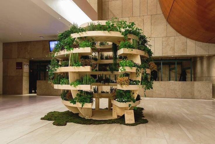 The blueprints for this urban garden structure is free to download by anyone anywhere in the world.