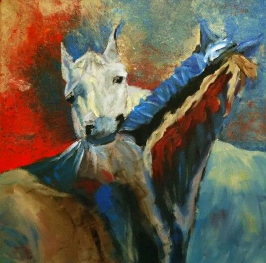 Det klør -hester