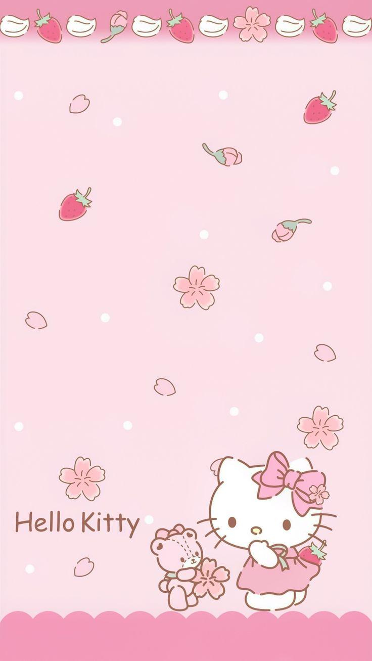 ป กพ นโดย Aekkalisa ใน Hello Kitty Bg วอลเปเปอร ขำๆ วอลเปเปอร น าร ก พ นหล ง Iphone
