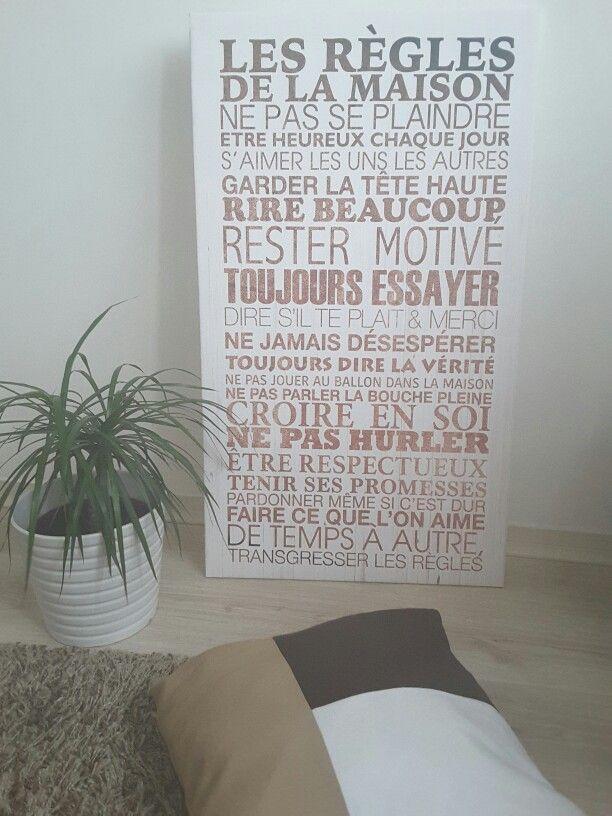 les r gles de la maison home pinterest r gles de la maison les r gles et de la maison. Black Bedroom Furniture Sets. Home Design Ideas