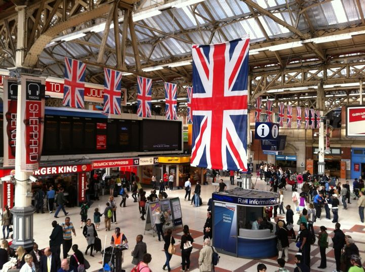 London Victoria Railway Station (VIC)